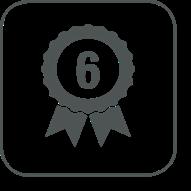 Garantie du moteur jusqu'à 6 ans